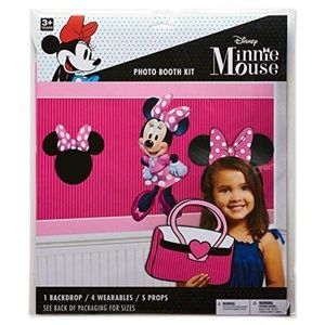 American Greetings Photo Booth Kit-Minnie Mouse